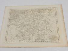 1817 Antique Britannica Map/GERMANY, AUSTRIA, SWITZERLAND