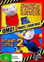 STUART LITTLE & STUART LITTLE 2 - BRAND NEW & SEALED DOUBLE FEATURE DVD