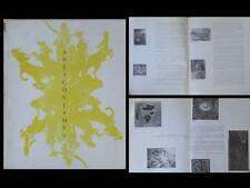 CATALOGUE ANTAGONISMES 1960 - MUSEE ARTS DECORATIFS PARIS - EXPOSITION ART