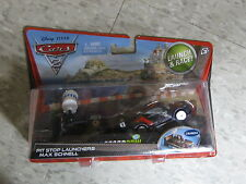 Disney Pixar Cars 2 Pit Stop Launchers Max Schnell No.  New in Sealed Package