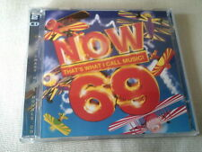 NOW THAT'S WHAT I CALL MUSIC 69 - 2 CD ALBUM - 2008 - DUFFY/RIHANNA/BASSHUNTER