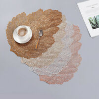 PVC Table Mat Simulation Hollow Tree Branch Insulation Placemat Coaster Non-slip