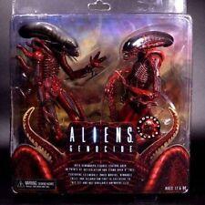 "NECA Alien Genocide Red Xenomorph Concept - 7"" Action Figures 2 Pack Set New"