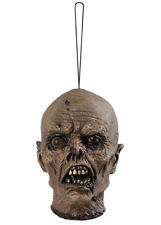 Halloween Voodoo Severed Head Hanging Scary Prop