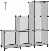 6-Cube Closet Organizer Storage Shelves Cubes Organizer DIY Cabinet Book Shelf