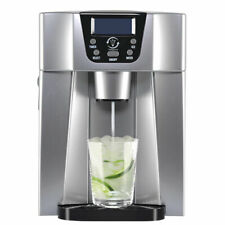 3in1 Ice Maker + Ice Cube Dispenser + Cold Water Dispenser LED Display Machine