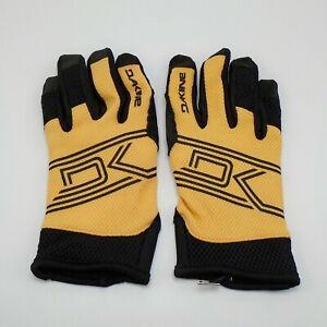 Dakine Covert Bike Gloves Women's Medium Golden Glow