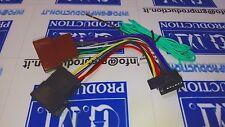 Cavo ISO adattatore autoradio radio SONY harness 16 PIN da 10,2x21,5 mm dal 2014