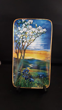 DAVENPORT 'TRANQUIL DAWN' (TIFFANY'S WINDOWS OF LIGHT) -collectors plate