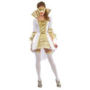 Carnaval Vénitien + Masque Femmes Adultes Venice Renaissance Costume Déguisement