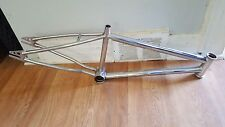 OLD SCHOOL BMX 80s CHROME CYCLE PRO BONZAI 20 inch FRAME ONLY VINTAGE RARE HTF