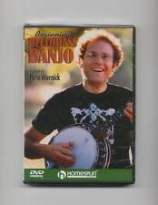 BEGINNING BEGINNER BLUEGRASS BANJO LESSON DVD *NEW*