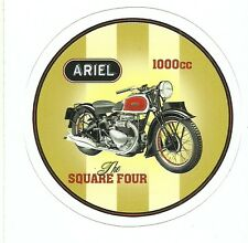 ARIEL SQUARE FOUR MOTORCYCLE Sticker Decal