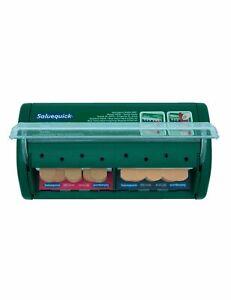 Salvequick Pflasterspender inkl. Grundausstattung 6036 und 6444 Pflastereinsätze