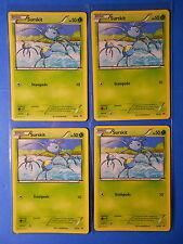 4x Surskit 16/30 Pokemon TCG card XY Trainer Kit (Latias deck) NM