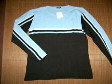 Mehrfarbige Damen-Pullover & -Strickware ohne Verschluss Größe 42