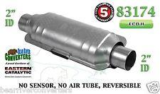 "83174 Eastern Universal Catalytic Converter ECO II Catalyst 2"" Pipe 12"" Body"