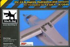 Blackdog Models 1/72 BELL V-22 OSPREY HYDRAULICS & SENSORS Resin Update Set
