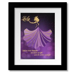Lola - The Kinks Song Lyric Inspired Music Room Art Print Poster Design Decor
