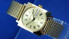 Vintage Retro Gruen Automatic Watch Circa 1970s NOS Cal AS 1906 New Condition