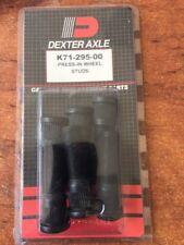 """490310 DEXTER Wheel Studs x 6 - 1/2"""" - Suits DEXTER 10"""" Hub-Drum Trailer Caravan"""
