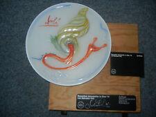 Rosenthal años plato de vidrio 1979 la Dali caracol nº 2224 + embalaje original + certificado!