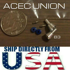 U.S. SELLER - Metal Detail-Up BLUE Luxury Thruster Set B3 For 1/100 MG Gundam