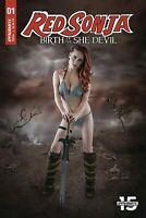 Red Sonja  #1 Cosplay Variant Dynamite Entertainment Comics 1st Print 2019 NM