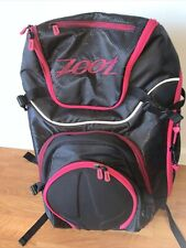 Zoot Sports Ultra TRI 2.0 Backpack Bag  Black And Pink New Other