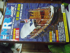 11µµ Revue MRB RC Marine n°626 Plan encarté Cabin Cruiser Le Ponant / Riva