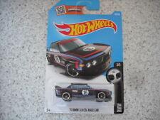 HOT WHEELS 2016 HW BMW 1973 3.0 CSL RACE CAR BLACK CAR 190 DHX63