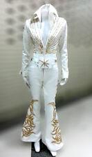 Da NeeNa Elvis Presley Inspired Singer Actor Crystal The King Cape Jumpsuit