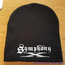 """SYMPHONY X Beanie/Knit Hat/Cap  """"Embroidered Logo""""  Official/Licensed OSFM NEW"""
