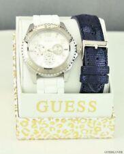 Relojes de pulsera de acero inoxidable de goma para mujer