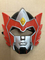 RED MASK Mighty Morphin Power Rangers Mega Force Bandai 2006 Hard Plastic