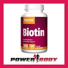 Jarrow Formulas - Biotin, 5000mcg - 100 caps