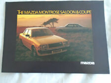 Mazda Montrose Saloon & Coupe range brochure Apr 1980