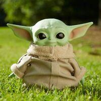 "Mattel Star Wars The Mandalorian ~ The Child [Baby Yoda] 11"" Soft Plush Toy BNIB"