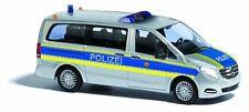 BUSCH 51170 Spur H0 Mercedes V-Klasse Autobahnpolizei #NEU in OVP#