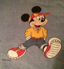 RARE Duvet cover / housse de couette  CTI DISNEY Mickey vintage Rétro Drap TBE