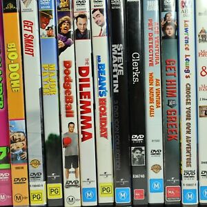 Comedy Movie Preowned DVD Collection Bulk Discounts Free Tracked Post