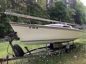 1988 Hunter 23' Sailboat & Trailer - North Carolina