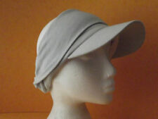 Cotton Blend Visor Hats for Women