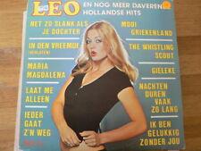 LP RECORD VINYL PIN-UP GIRL LEO EN NOG MEER DAVERENDE HOLLANDSE HITS TELSTAR 197