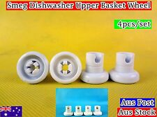Smeg Dishwasher Spare Parts Upper Basket Wheels Replacement  white (C309) New