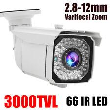 CCTV Camera 1080P 4in1 Home Security CMOS 3000TVL 66 IR 2.8-12mm Zoom Outdoor Dp