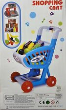 """20"""" Shopping Cart For Grocery Foods Toy Fun Prentend Play Playset Kids Register"""