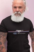 Ford Mustang T Shirt American Muscle Car Logo Men Women Birthday Gift Dad Son