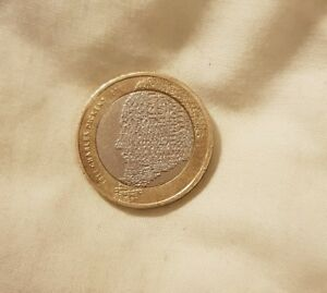 CHARLES DICKENS 2012 £2 TWO POUND COIN RARE ROYAL DOUBLE MINT ERROR