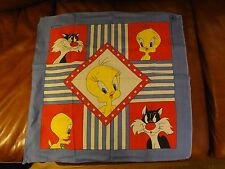 "Disney Tweety and Sylverter Scarf Handkerchief 21"" X 22  """